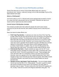 verizon fios bundle contract