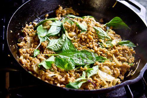 Basil Chicken - Gai Pad Krapow (So... where in Erie can I get a Thai ...