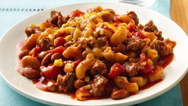 Chili Macaroni Skillet   Recipe