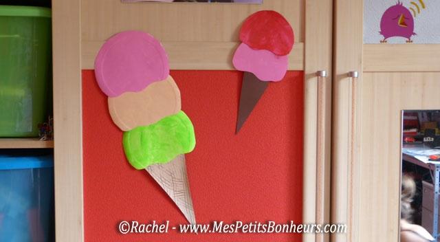 Bricolage d co chambre glaces g antes diy pinterest - Activite manuelle assiette en carton ...