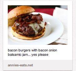 Bacon Burgers With Bacon- Balsamic Caramelized Onions Recipe ...