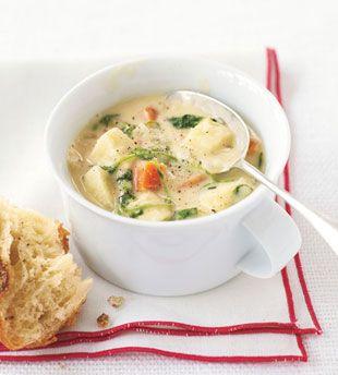 Parsnip, Yam, and Watercress Chowder | Recipes | Pinterest