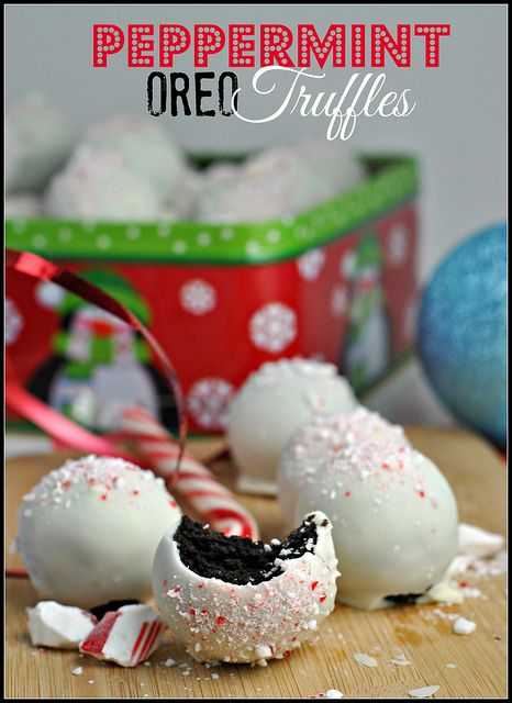 Peppermint Oreo Truffles (because I haven't met a variety of Oreo ...