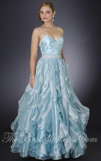 Pale ice blue wedding dress aqua attractions pinterest for Ice blue wedding dress