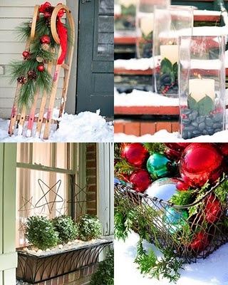 Christmas simple outdoor decorating christmas ideas Simple christmas outdoor decorating ideas