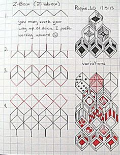 zentangle tutorial - Google SearchZentangle Patterns Tutorial