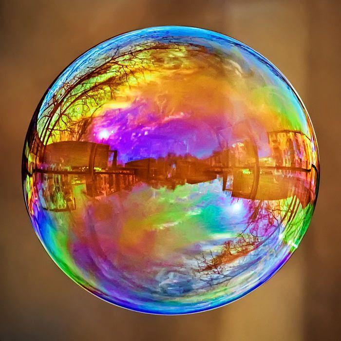 rainbow bubbles colorful - photo #10