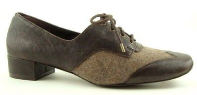Sam Edelman Echo Brown Womens Designer Shoes Lace Up Oxfords 10 | eBay