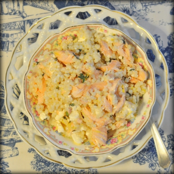 Israeli Cous Cous with Lemon & Thyme And a cole slaw recipe that makes ...