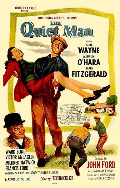 One of my favorite John Wayne movies--gotta love a fiery red headed wench!