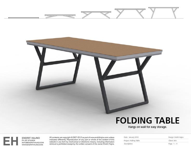 Folding Table My work Pinterest : 40706e89305f8817f387251da7b3ecda from pinterest.com size 736 x 568 jpeg 74kB