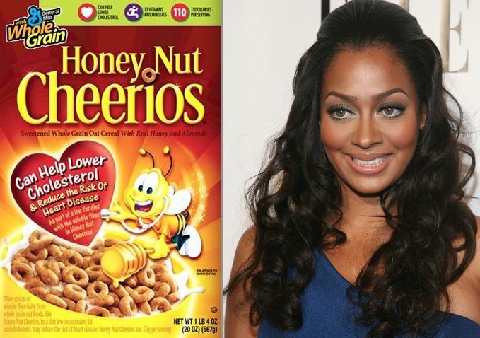 LaLa Anthony Honey Nut Cheerios