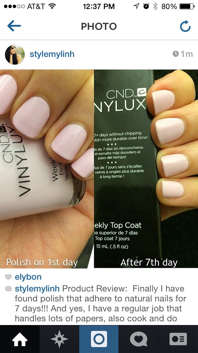 Gel nails without the UV light | Perfectly Polished | Pinterest