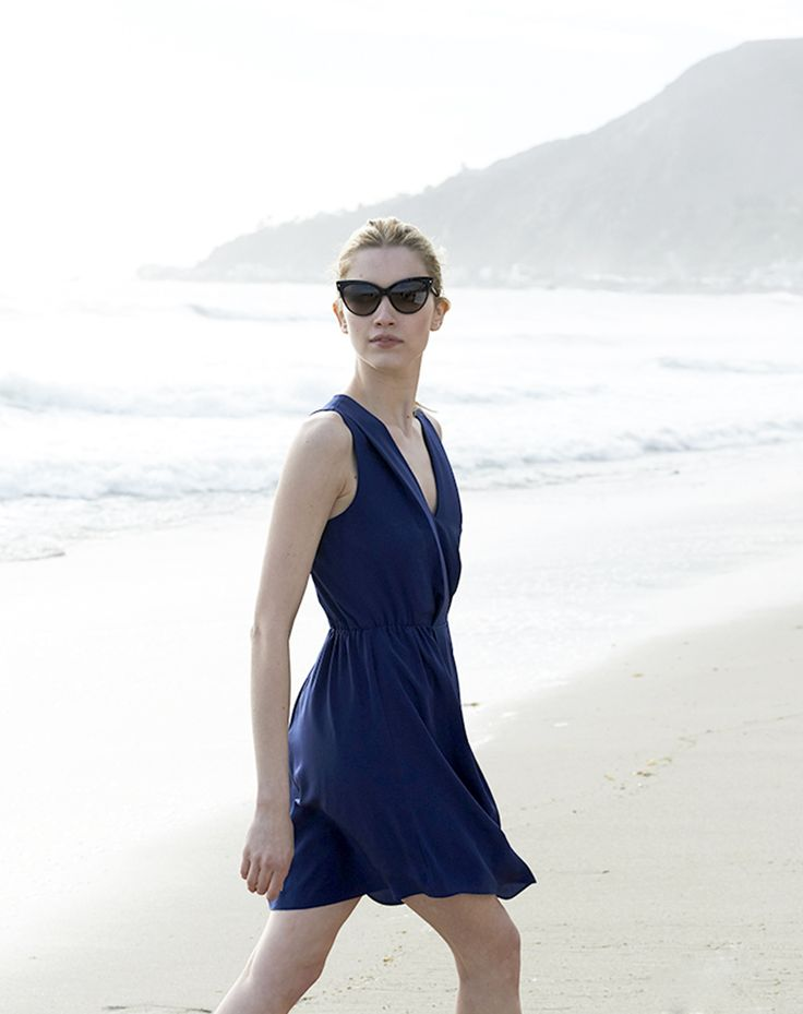 The Crepe Cutout Dress | Perfect Weekend | Pinterest