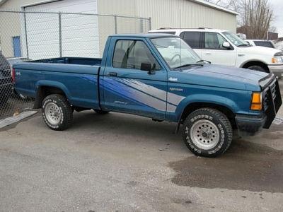 1992 ford ranger custom sport 4x4