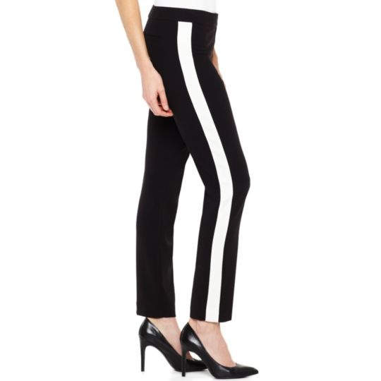 Tuxedo ankle pants in tall clearance $17