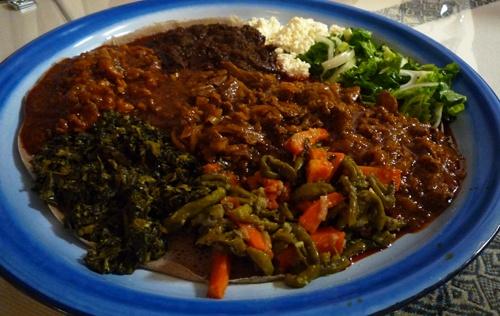 awaze tibs at melkam photo by bill esparza ethiopian awaze beef tibs w ...