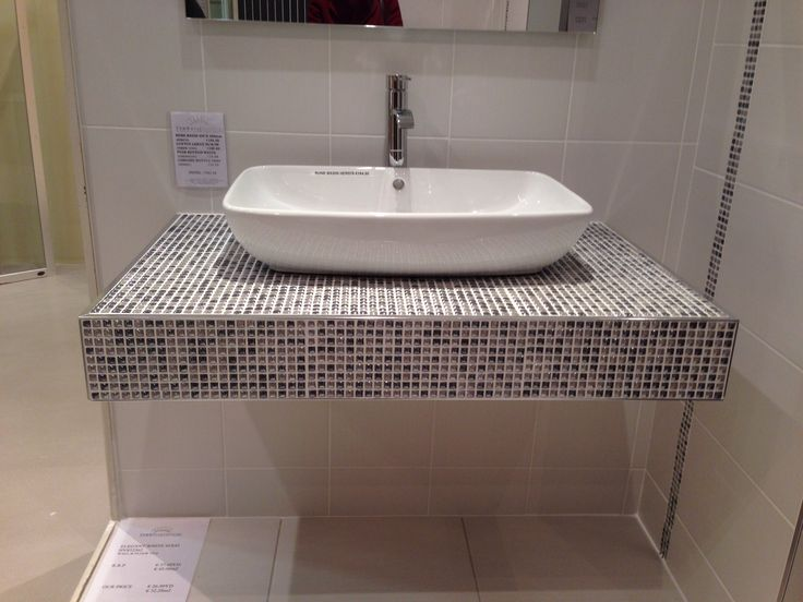 Floating Stone Sink : floating sink Bathroom Pinterest