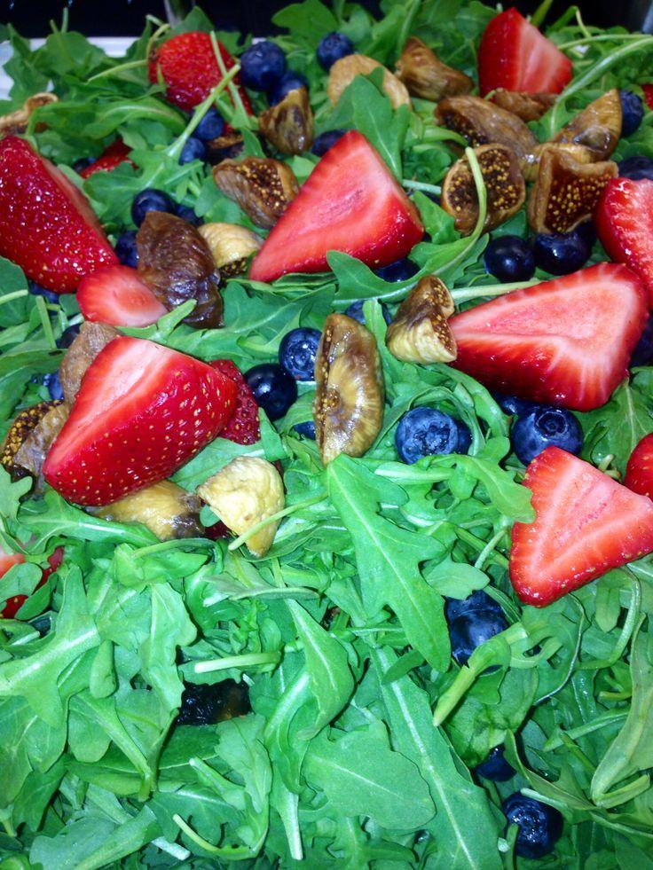 Arugula Salad With Pears, Prosciutto & Aged Gouda Recipes — Dishmaps