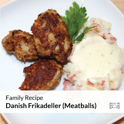 Family Recipe - Old Family Danish Frikadeller (Meatballs) | Honey and ...