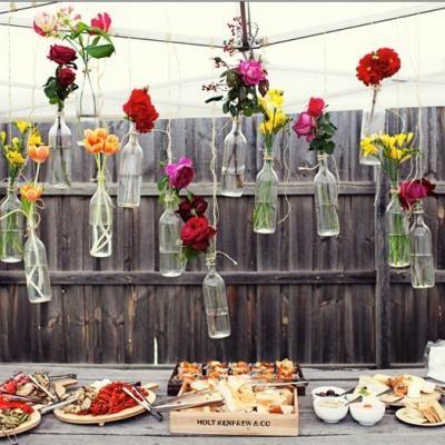 DIY Hanging Flower Vases {party decor}  general event ...