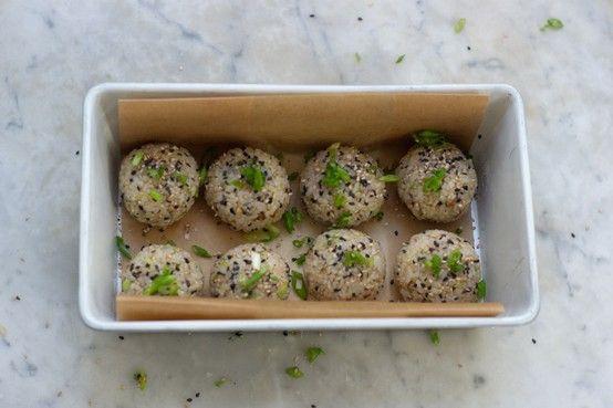 pudding balls fried rice balls stuffed rice balls japanese rice balls ...