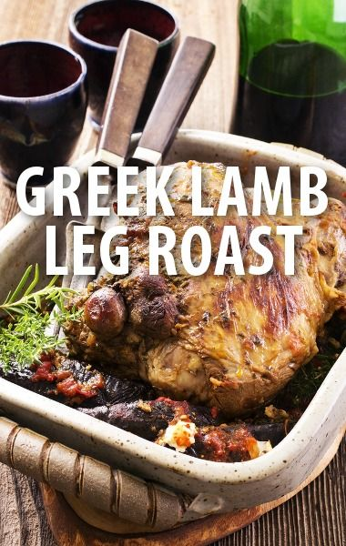 The Chew: Michael Symon Greek Leg of Lamb Recipe with Lemon Potatoes