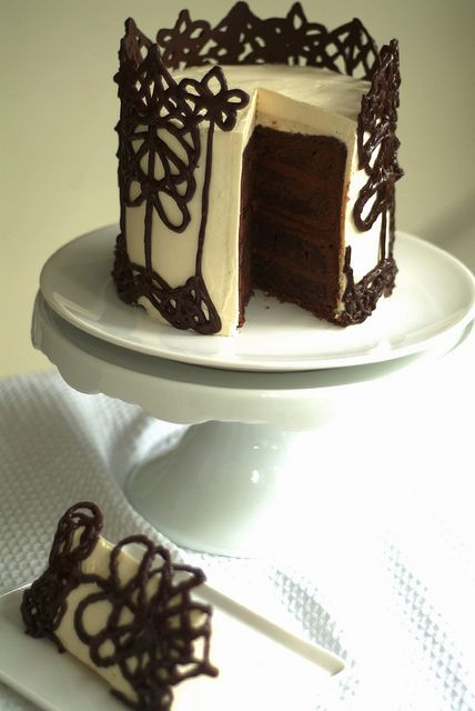 Dark Chocolate Peppermint Cake | Cakes | Pinterest