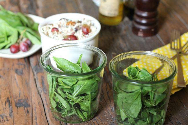 chicken-salad-recipe-in-a-jar/ | Lunch | Pinterest