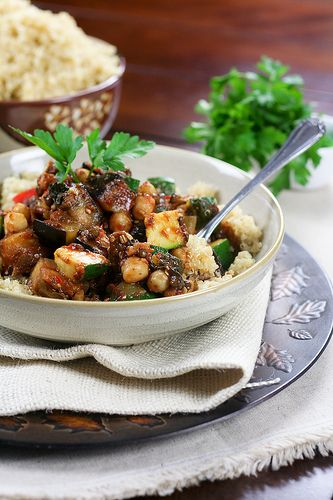Quick Ratatouille on Quinoa | Recipe
