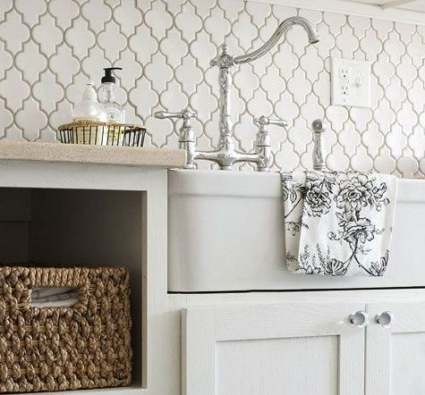 Perfect Backsplash For A Laundry Room Home Laundry