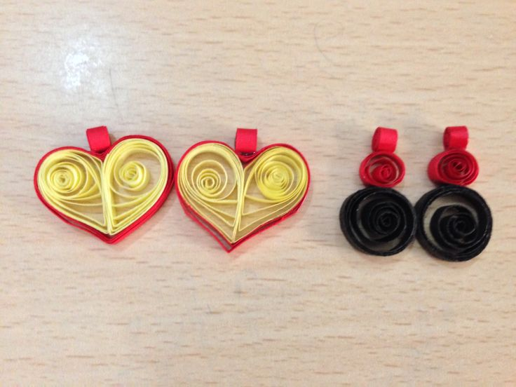 Earrings- quilled