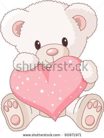 how to draw a love teddy bear