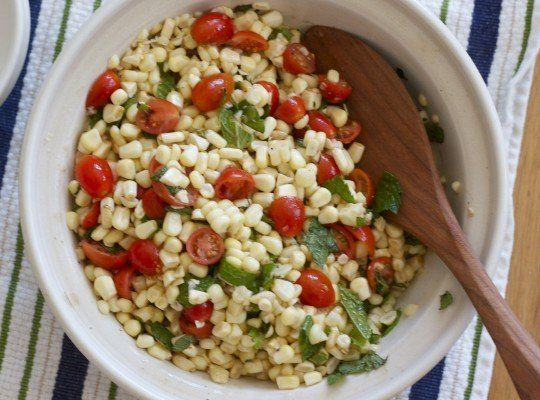 Recipe: Summer Corn Salad — easy and delicious. I swapped pistachios ...