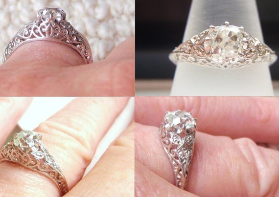 2500 00 this looks a lot like my great grandmother s engagement ring