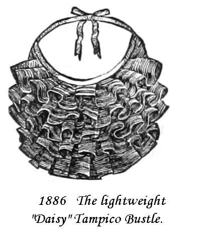 Tampico Daisy Bustle 1886