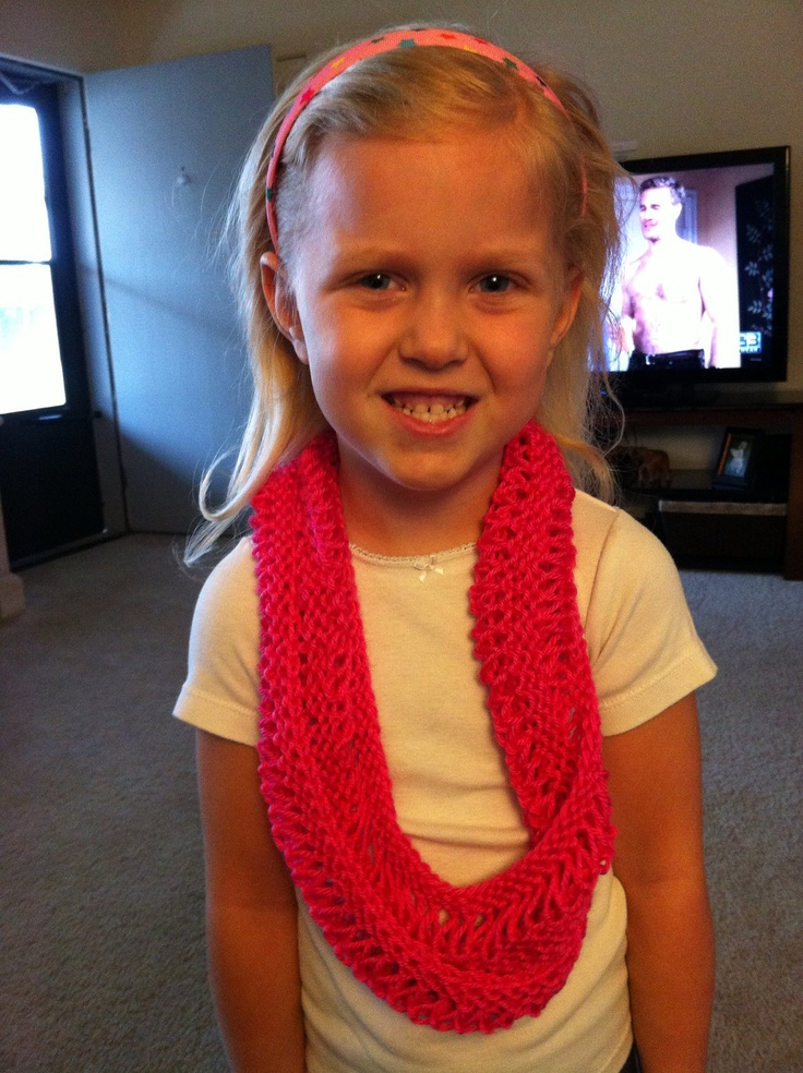 Knitting Pattern Child Infinity Scarf : Child Knit Infinity Scarf Knitting Pinterest