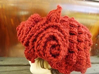 Crochet Bobble Beret | InterweaveStore.com