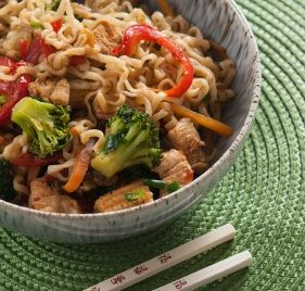 Ginger Poached Chicken and Noodles | My Weightloss Journey | Pinterest