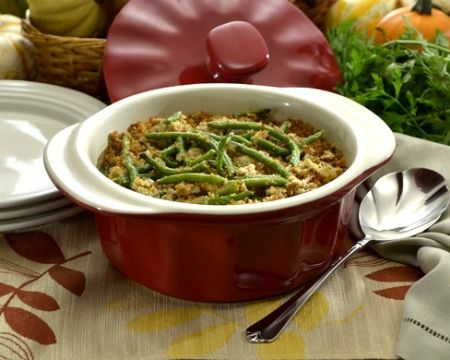 Blue Cheese and Green Bean Casserole | Recipe