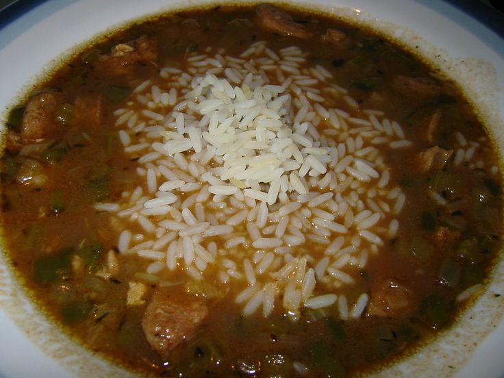 Cajun Seafood Gumbo with Andouille Smoked Sausage..from paul prudhomme ...