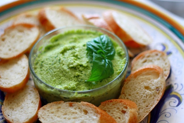 edamame dip! I wish I could hire her to cook for me, love this blog