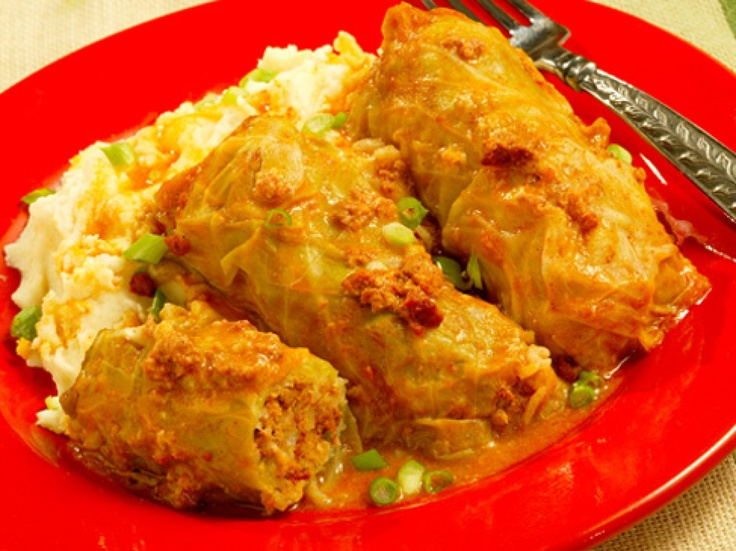 Chorizo Stuffed Cabbage Rolls http://www.greenvilleonline.com/article ...