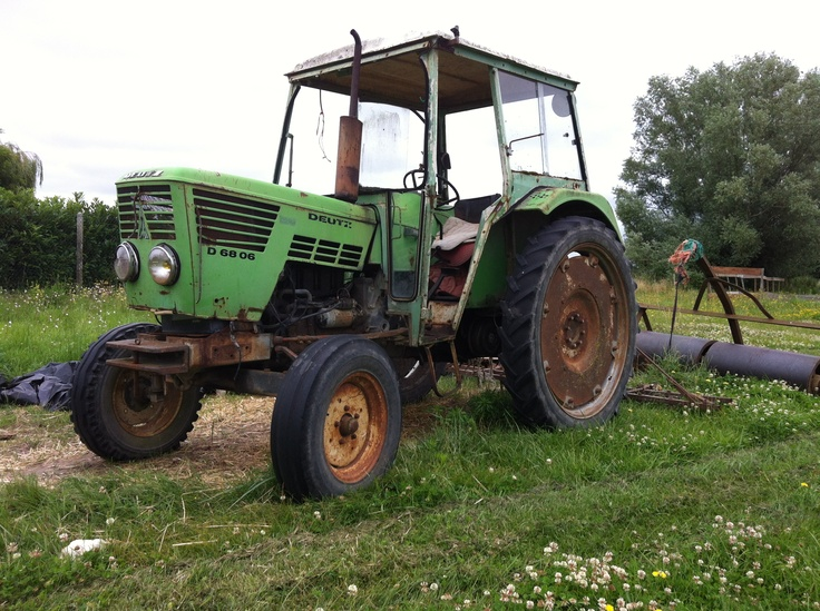 Tracteur Deutz des années 60