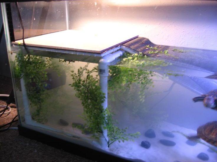 Подставка в аквариум для черепахи своими руками 42