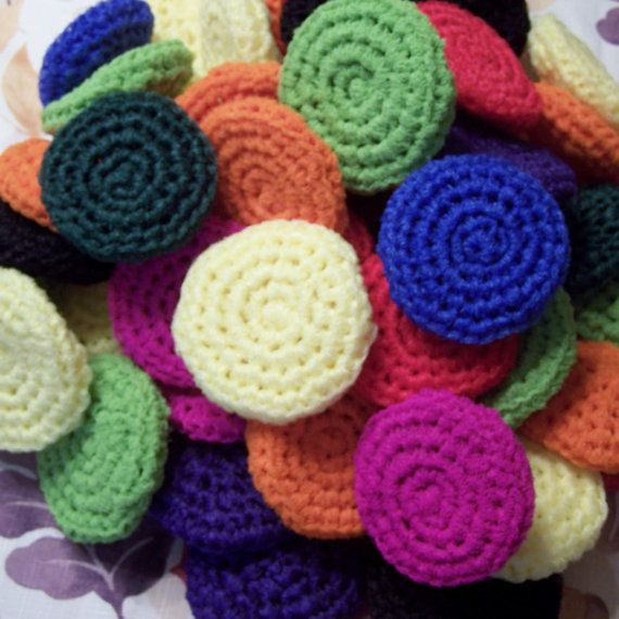 Crocheted Nylon Scrubbies