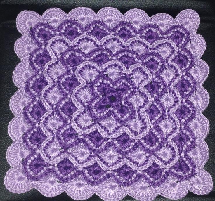 Crochet Stitches Catherine Wheel : Catherine Wheel Stitch Crochet~ Perfection Pinterest