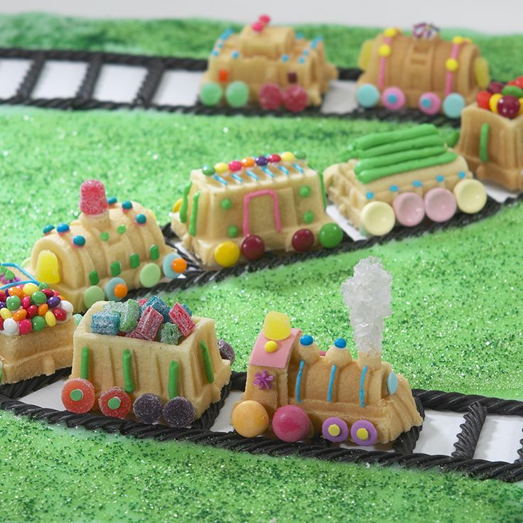 Nordic Ware Train Cake Pan Decorating Ideas