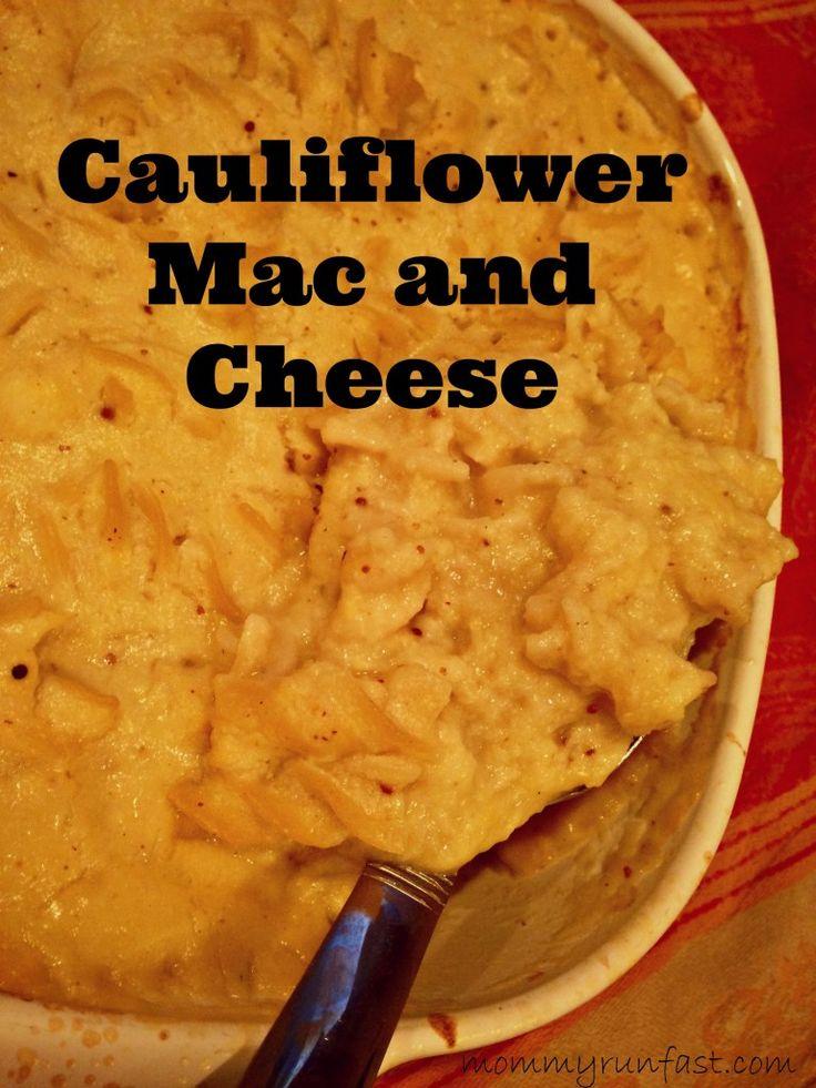 Cauliflower Mac and cheese | Smashing Side Dishes | Pinterest