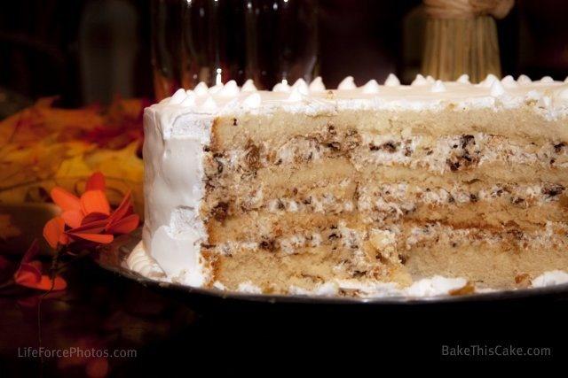 Vintage Lady Baltimore Cake Recipe | Sweets | Pinterest